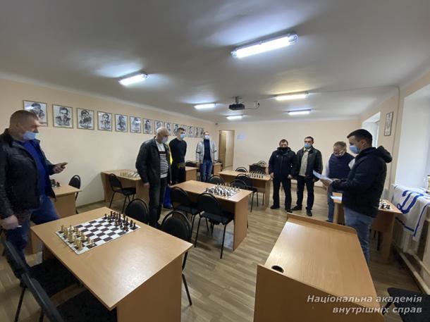 Чемпіонат із шахів серед правоохоронців столиці