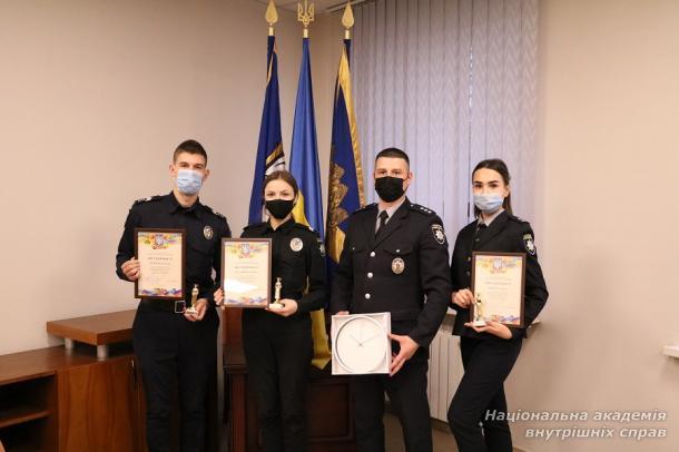 У Солом'янській районній державній адміністрації нагороджували курсантів і студентів ННІ № 1 НАВС