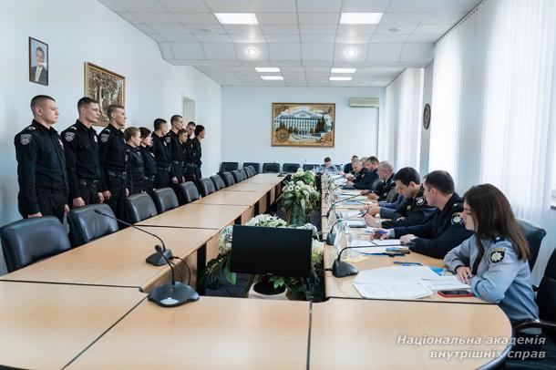 Персональний розподіл майбутніх працівників органів досудового розслідування та кримінальної поліції Національної поліції України