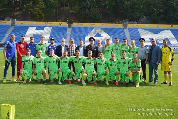 Команда НАВС здобула срібло в Чемпіонаті з футболу серед студентських команд столиці